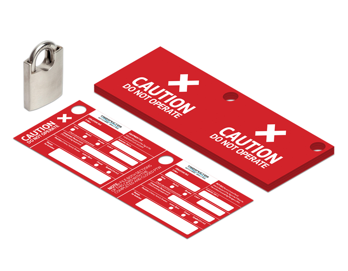 XIC Safety Cards Tags Aberdeen