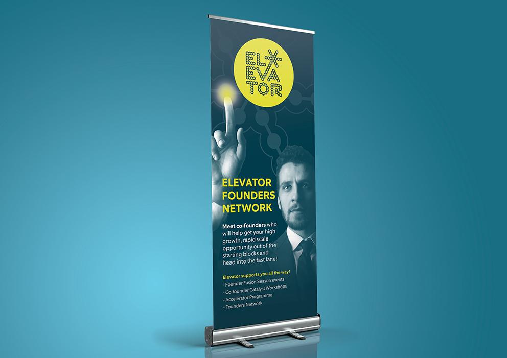 Elevator Roller Banner WEB